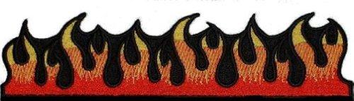 Dancing Flame Aufnäher Patch 20 cm X 5 cm (20.32 cm X 5.08 cm)