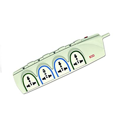 Goldmedal 3055-G-FORCE 4+4 Socket Spike Surge Protector