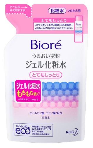 ビオレ密封ジェル化粧水とてもしっとりカエ160ml