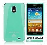 Galaxy S2 HD LTE TPUケース (GALAXY SII WiMAX ISW11SC 対応) Mercury Case【Mint(ミント)】
