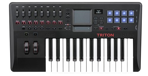 Korg-Triton-TAKTILE-TR25-teclado-controlador-USB-con-motor-Triton-Sonido