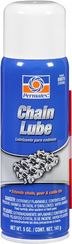 Permatex 80075 Chain Lube, 5 oz. net Aerosol Can