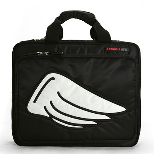 Toshiba Mini NB205-N310/BN Netbook Fitted Winged Flight Series Soft Convertible Messenger Bag/Backpack