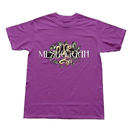 YOYAO Men's Art Unique Meshuggah T-Shirt