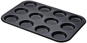 Zenker 3786 Plaque Pour Mignardises / Mini Pizza Teflon Prima 12 Empreintes