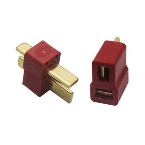 Waltzmart Ultra T Plug Connectors Deans Style For RC LiPo Battery Pack of 10 Pairs