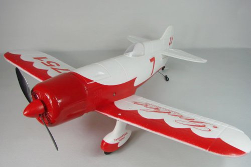 Sales 2011 Advanced GeeBee Racer Radio Controlled Electric Airplane RTF With Li-Po Battery, Brushless Motor and a 2.4G 4 Ch Radio System