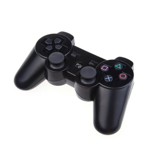 PowerRider New Style Bluetooth Wireless gamepad for PS3 Dual shock PS3 Game Controller Gamepad Joypad for Sony Playstation 3(Tree bark)
