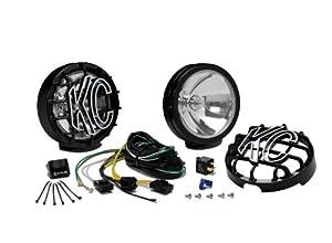 KC HiLiTES 121 SlimLite Black 130-Watt Long Range Light System Kit by KC Hilites