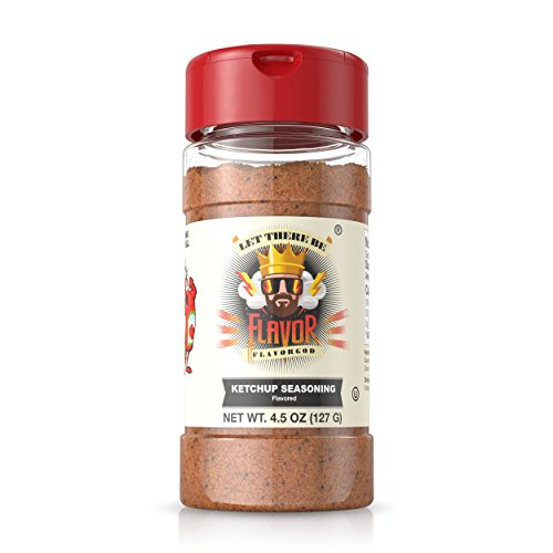 Flavor God #1 Best-Selling, Ketchup Seasoning, 1 Bottle, 5 oz
