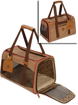 American kennel club by sherpa original pet carrier to 14lbs brown 97002