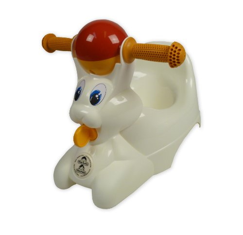 White Riding Potty Chair