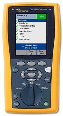 Fluke Networks DTX-1200 Cable Analyzer