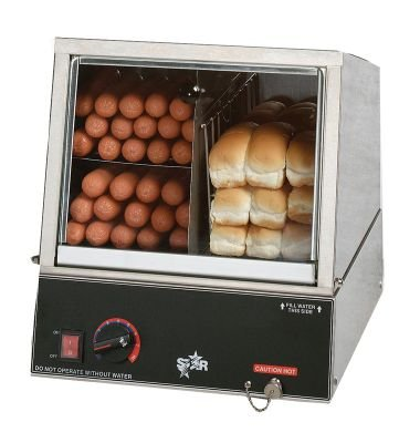 Star Hot Dog Steamer and Bun Warmer