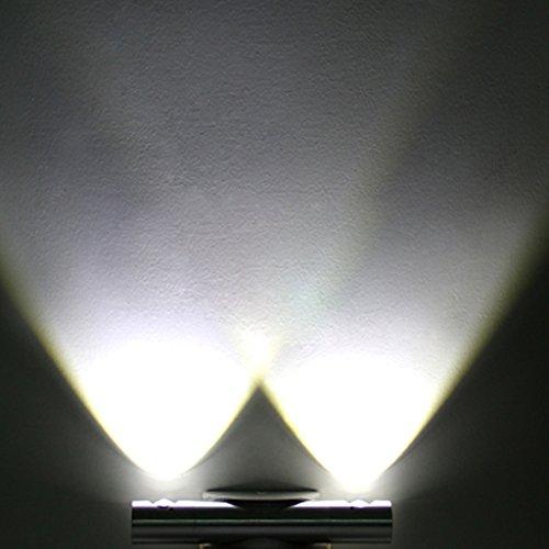 Trois Couleur® 2W LED Lampe Applique murale pour décoration maison chambre appartement - Lumière Blanc