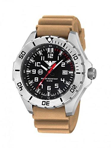 KHS Tactical orologio uomo Landleader Steel KHS.LANS.DT