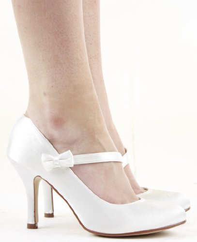 Ladies Party Classic Formal Pumps High Heels Stiletto Court Shoes Size Wedding with shoeFashionista Boutique bag