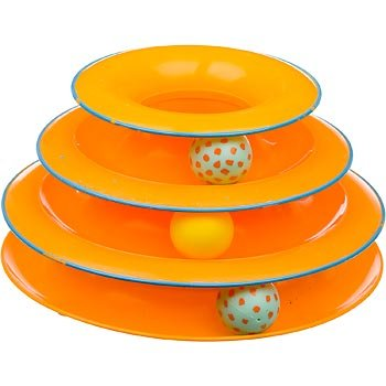Image Petstages Tower of Tracks Pet Toys