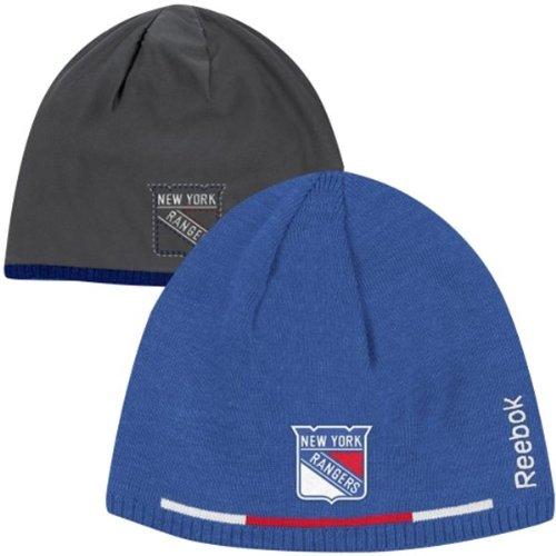 New York Rangers 2013-2014 Player Reversible Knit Hat By Reebok at Amazon.com