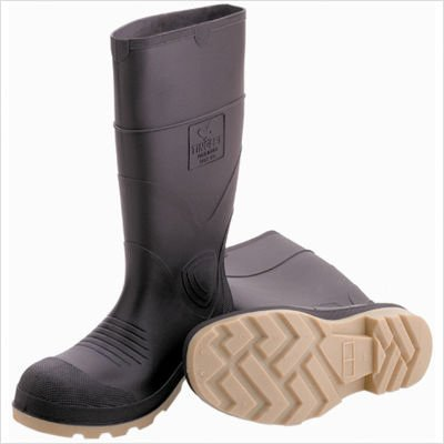 Tingley Rubber Pvc Knee Boot Plain Toe Brown 11 - 51144