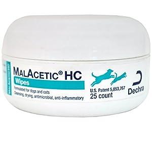 DECHRA Malacetic HC Wipes (25 ct)