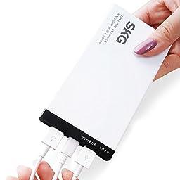 SKG 8000mAh Premium Dual USB Portable Power Bank