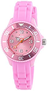 Ice-Watch Childrens Pink Sili Forever Watch SI.PK.M.S.13