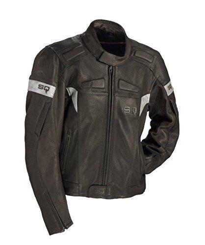 SQ 15261 VEGAS veste de moto noir/argent-taille 50