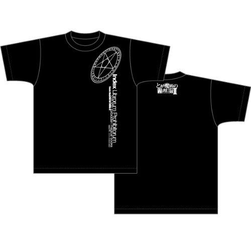 とある魔術の禁書目録II Magical Circle柄 Tシャツ ブラック サイズ:L