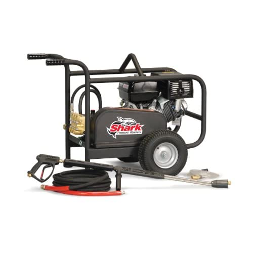 Image of Shark BR-353237 3,200 PSI 3.5 GPM Honda Gas Powered Industrial Series Pressure Washer