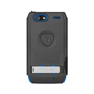 Trident Case Build Your Own KRAKEN A.M.S. Case for Droid Razr Maxx - Retail Packaging - Black/Blue
