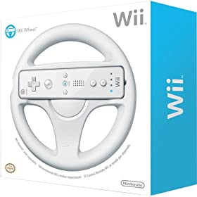 Official Nintendo Wii Wheel @ $9.99