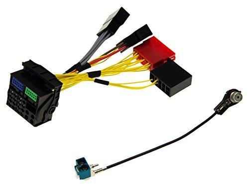 adapter universe kfz radio navi antennen adapter kabel kabelsatz einbauset stecker f r audi rns e. Black Bedroom Furniture Sets. Home Design Ideas