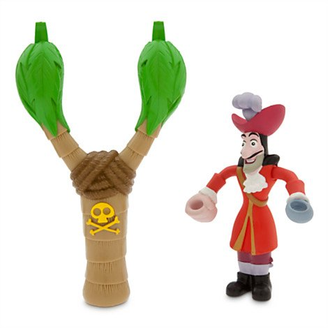 Captain Hook Talking Launcher Set