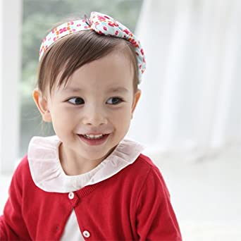 Susu & Cra Baby Hair Band, Infant Head Band (Florrie Pink)