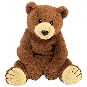 TY Bixby the Grizzly Bear Beanie Baby: Amazon.co.uk: Toys