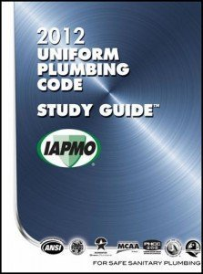 2012 Uniform Plumbing Code (UPC) Study Guide w/ Tabs