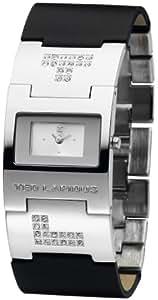 Ted Lapidus - D0474RBPN - Montre Femme - Quartz Analogique - Cadran Argent - Bracelet Autre Multicolore