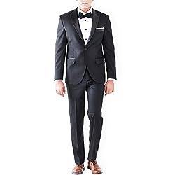 Premium Black Wedding Tuxedo Suit