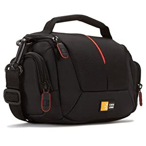 -305 Compact System/Hybrid/Camcorder Kit Bag (Black) : Camera & Photo