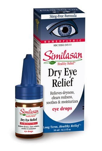 Similasan Dry Eye Relief Eye Drops .33-Ounce Bottles (Pack of 3)