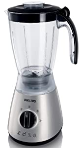 Philips HR2000/50 Silver Blender with 1.5 Litre Jar, 400 Watt from Philips