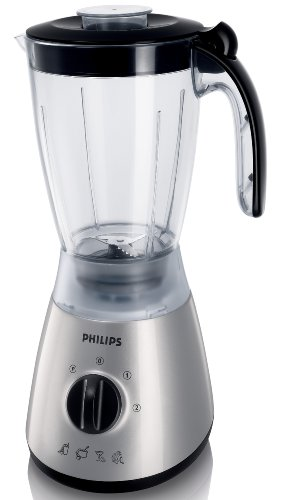 Philips HR2000/50 Silver Blender with 1.5 Litre Jar, 400 Watt