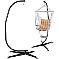 Giantex C Hammock Air Porch Swing Chair with Hammock Frame Stand