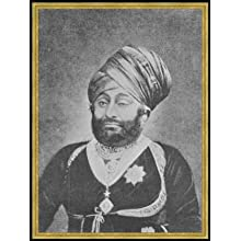 "Bild mit Rahmen: nach English photographer, ""Maharaja Mansinhji II, Raj Sahib of Dhrangadhra"", 59 x 80 - Holz..."