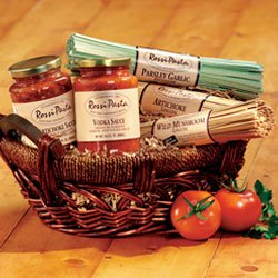 Rustica Pasta Gift Basket  Artichoke and Vodka