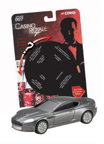Corgi James Bond 007 Aston Martin Dbs Casino Royale Modern Style