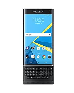 Priv Blackberry Unlocked Smartphone - Black (U.S. Warranty)