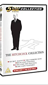 The Hitchcock Collection: Secret Agent, The Farmer's Wife, Rich & Strange, Juno And The Paycock, The Lady Vanishes. [5 DVDs + Booklet]