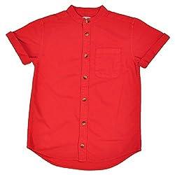 NOQNOQ Ribbed Collar Shirt Boys NN Style 02 BOY B